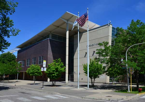 building of Claremont Academy
